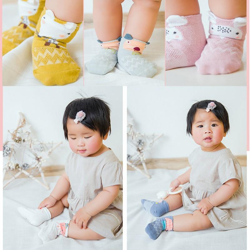 Summer Baby Girls Kids Toddler Socks Cotton Lace Princess Ankle Mesh Socks  BSC