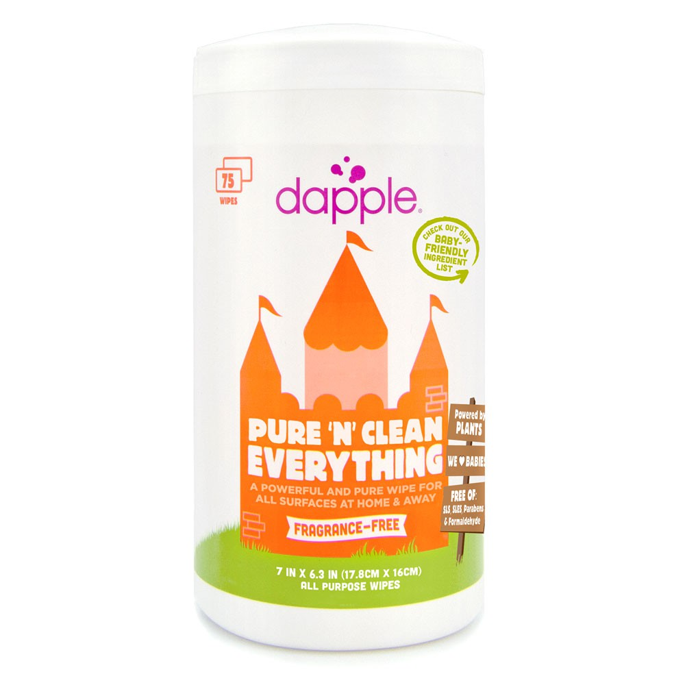 Dapple - 75 Ct All Purpose Cleaner Wipes