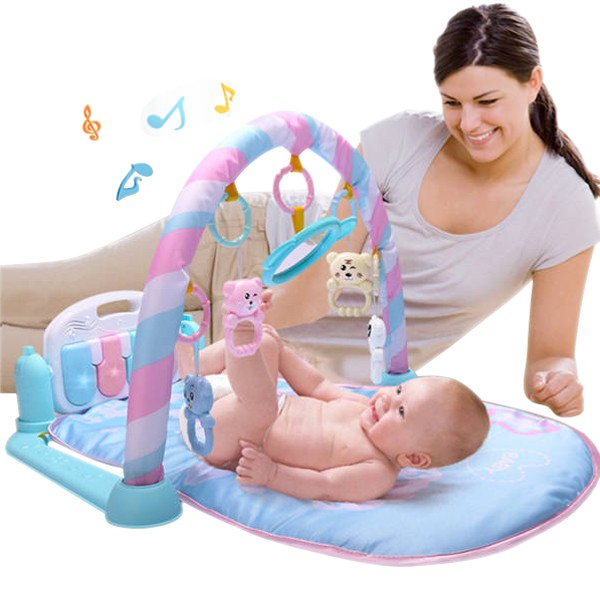 9a6224294 Baby Walker First Steps Activity Bouncer Musical Toy Trolley Sit-to ...