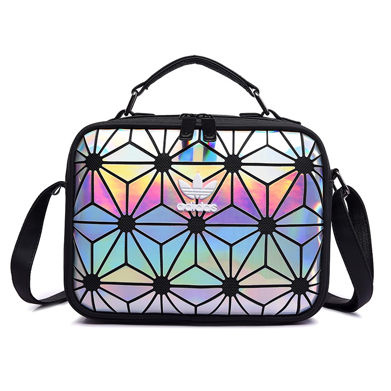 Original Adidas Sling Bag ISSEY MIYAKE 3d Leather Shoulder Tote Bags Handbag