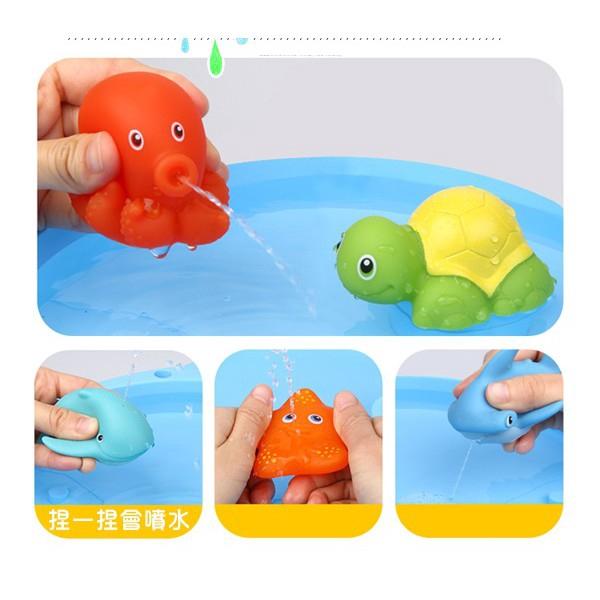 Portable Cartoon Baby Bath Supplies Non-Toxic Baby Bath Water Thermometer YW