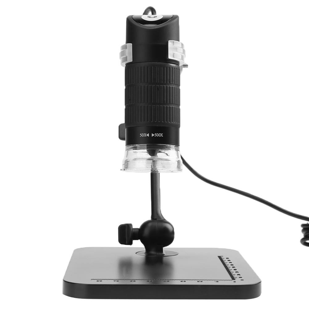5mp Digital Industrial Microscope Camera Lens With Cable Shopee High Definition Usb20 Otoscope Black Singapore