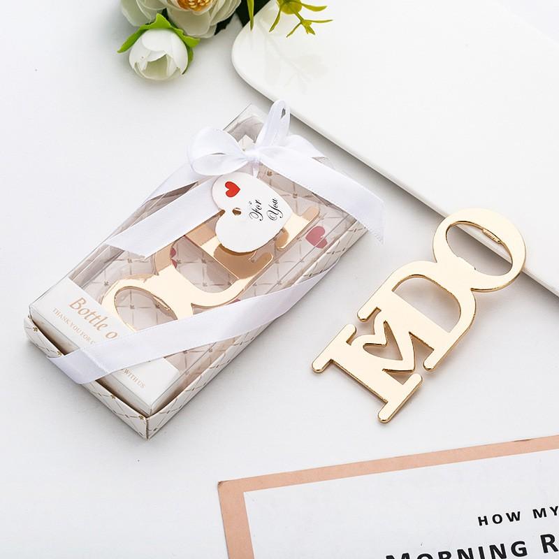Wedding Gift Singapore: Wedding Favors Door Gifts: I DO Bottle Opener