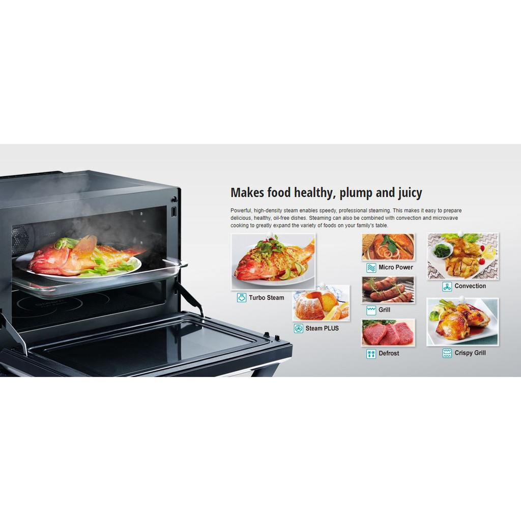 32l Steam Convection Microwave Oven