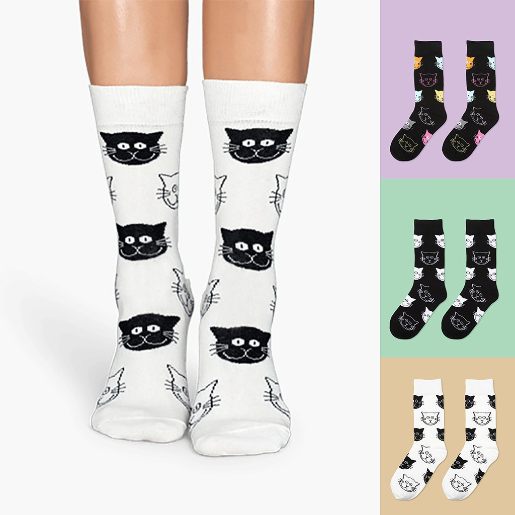 Casual Socks Crew Socks Princess Dress Printed Funny Novelty Sock Dress Socks Hosiery For Women Girls
