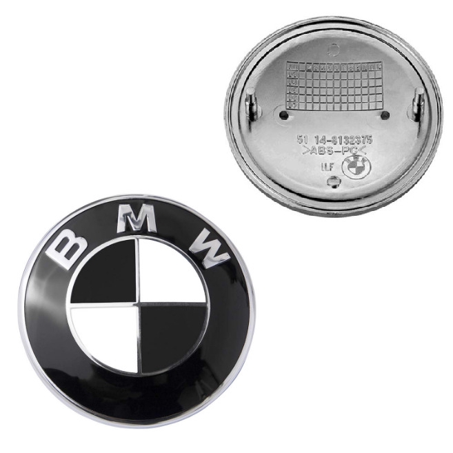 5 3 6 Series Replacement Hood New 7 BMW Logo Emblem For All Models X5