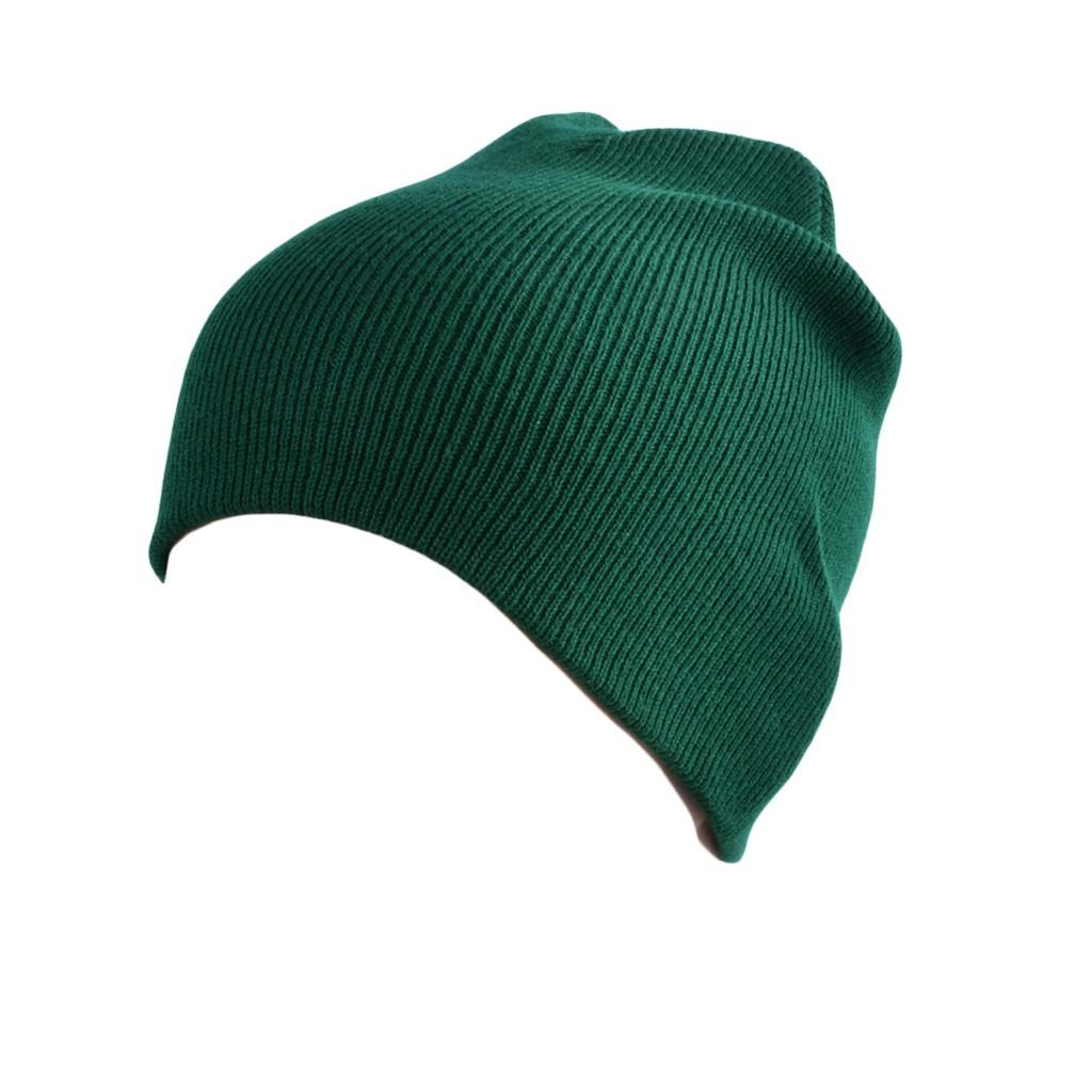 15c779a132927  ready stock  Fashion Men Women Plain Beanie Knit Hat Winter Warm Cap Solid