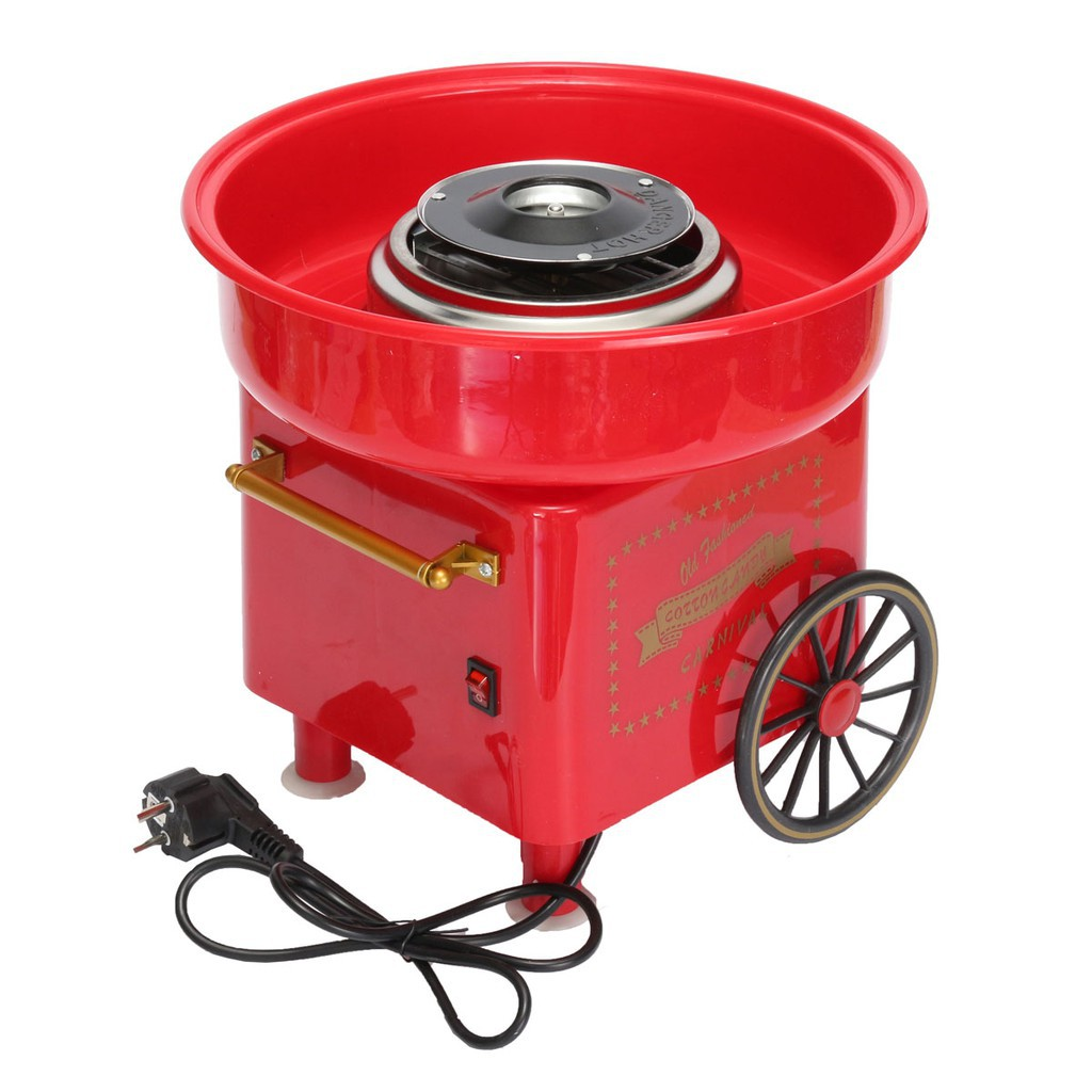 Blue Household Electric DIY Cotton Candy Maker Machine 450-550W 220-240V
