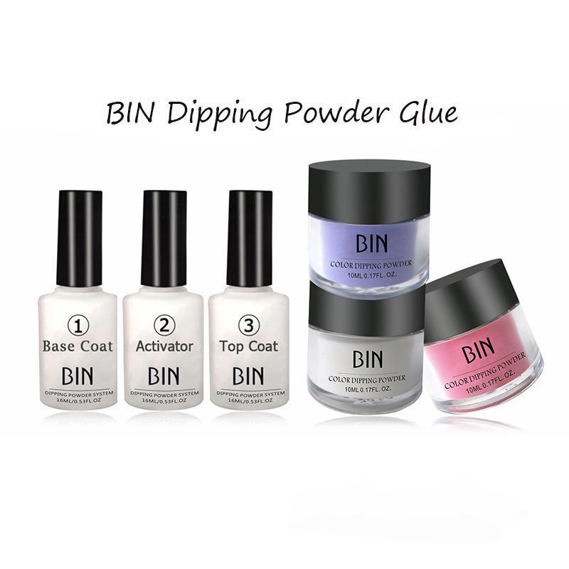 Base Coat/Activator/Top Coat Nail Art Dipping Powder Glue Glue Color Activator | Shopee Singapore