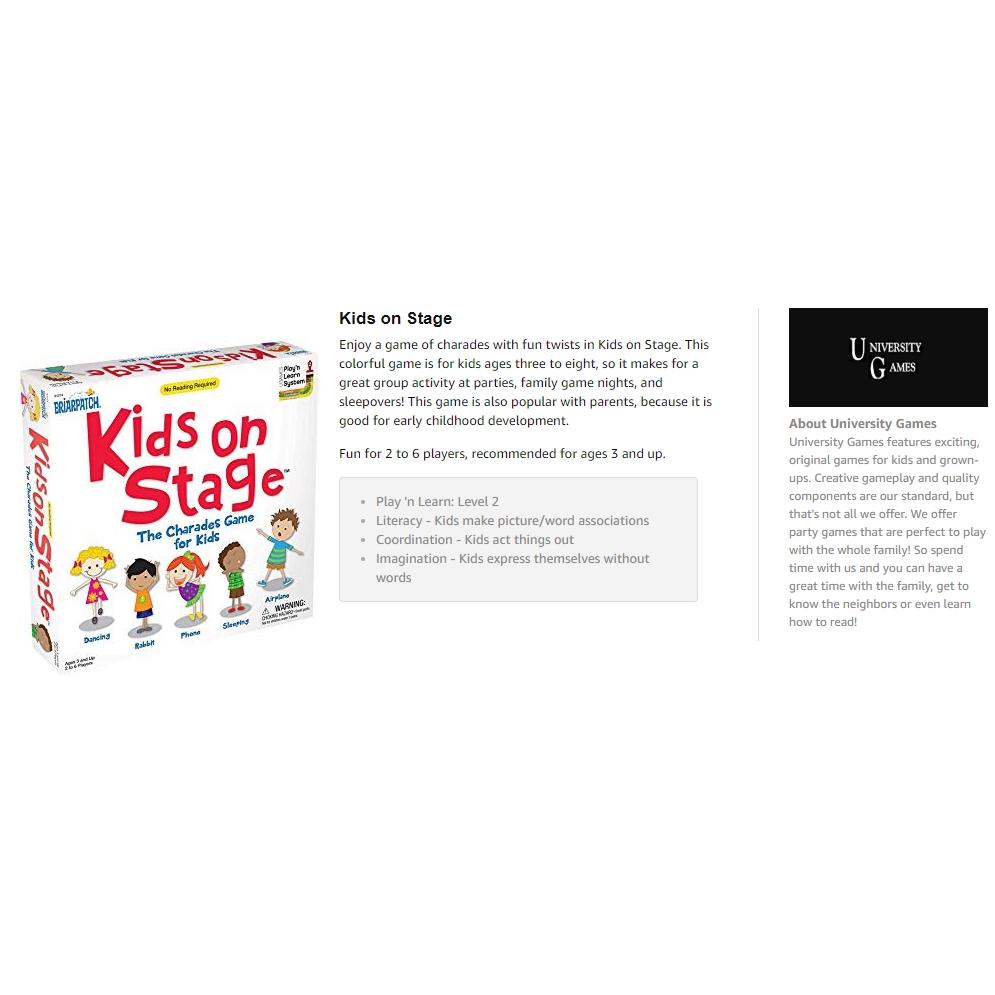 Charades Kids on Stage Tin | Shopee Singapore