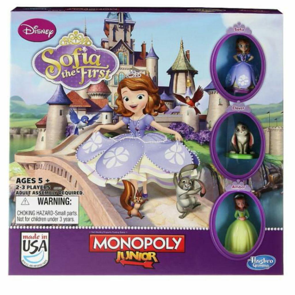 Monopoly Junior Games, Disney Sofia The First Edition