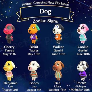 Animal Crossing Amiibo Card Dog Villagers Set New Horizons ...