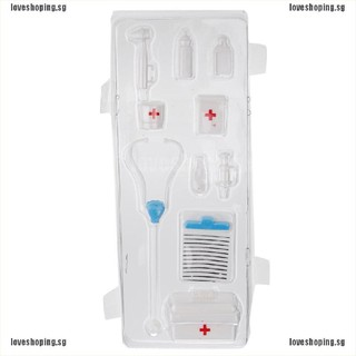 1 Set Blister toy for  Plastic Medical Kit for  Doll Accessories HI