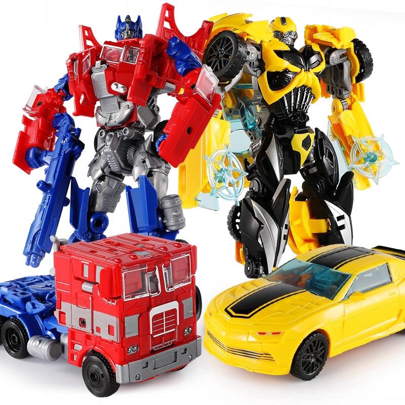 Snaen Transformers Toys Original Copy G4 Alloy Edition Series 19 21cm Optimus Prime Bumblebee Grimlock Drift Robot Hand Made Models Boy Gift Shopee Singapore