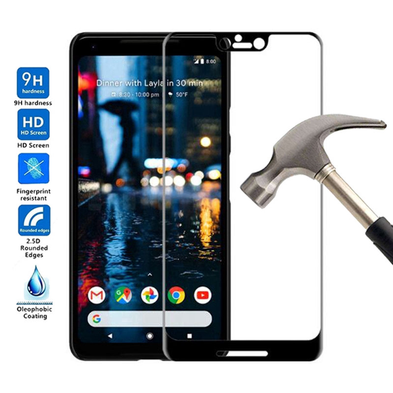 Full Cover Tempered Glass Film For Google Pixel 3 Pxiel 3 XL