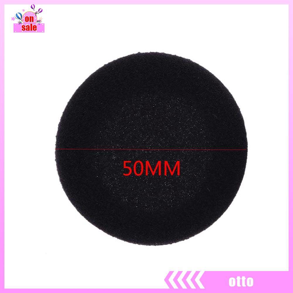 10x 5cm Foam Earpads Cover Cushion Sponge Cover Replacement Ear Cup Earphone  SG