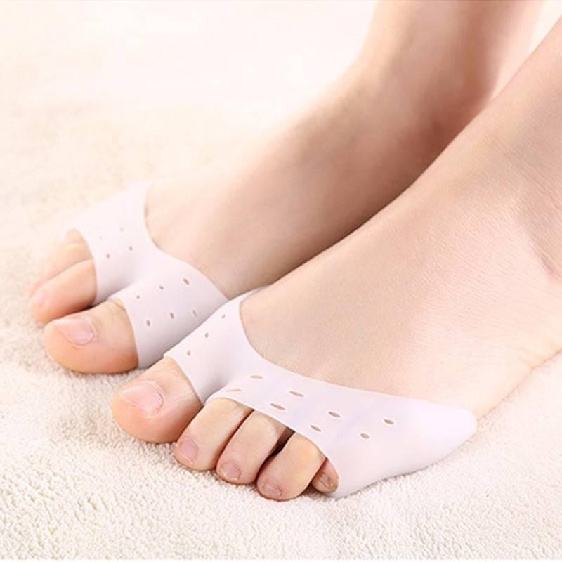 Soft Silicone Gel Toe Ballet Pointe Dance Shoe Pads Protectors 1 Pair ☆