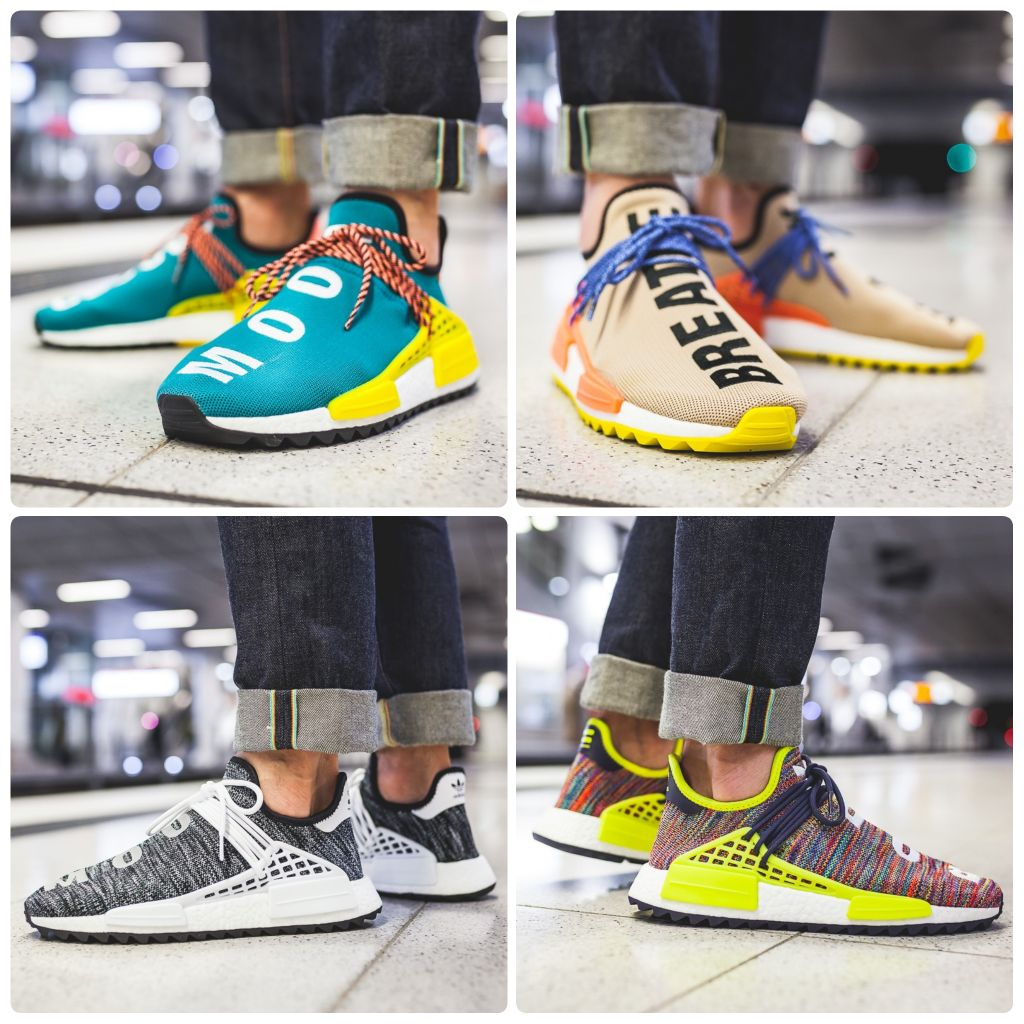 wholesale dealer 7f5fd 25ede Pharrell Williams Human Race NMD Philippine Human Running Shoes AC7361  Size  40   Shopee Singapore