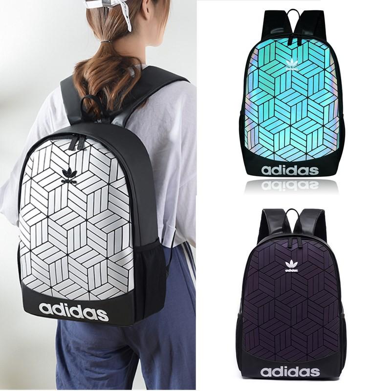 fd7ddff759 Adidas 3D Urban Mesh Roll Up Backpack laptop bags Travel bag Unisex  schoolbag   Shopee Singapore