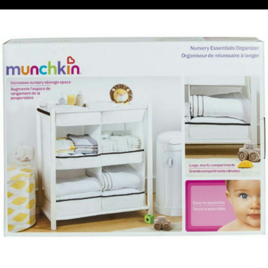Nursery Essentials Organizer Bnib