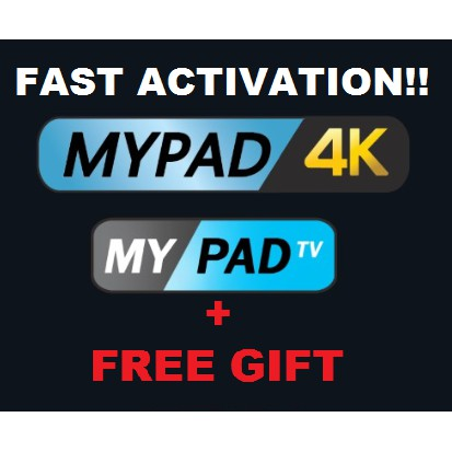 [FREE GIFT] Authorized MYPADTV Subscription! READY Pincode!! (Recommended!)