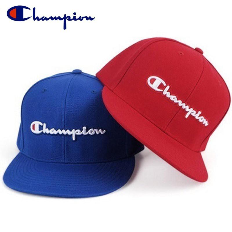 6a6e60bafc17f Champion BB Script Logo Snapback HY0805 Royal Blue Red