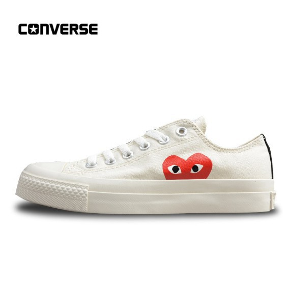 606dde3f184a CDG play COMME des GARCONS PLAY x Converse 1970s All Star Classic canvas  shoes