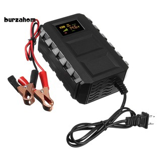 US AC110V 20AH Smart Car Battery Charger Motorcycle Automatic Maintainer  MKK