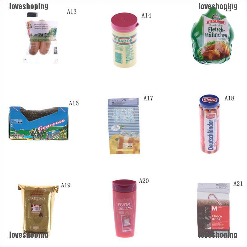 2Pcs Kitchen room food drink cup for doll diy miniature dollhouse coffee cup LS