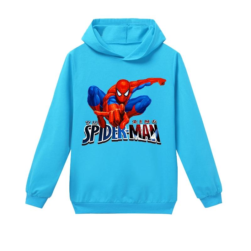 Kids Boys Marvel Super Hero Hoodie Sweatshirt Jumper Shirts T shirt Blouse Tops