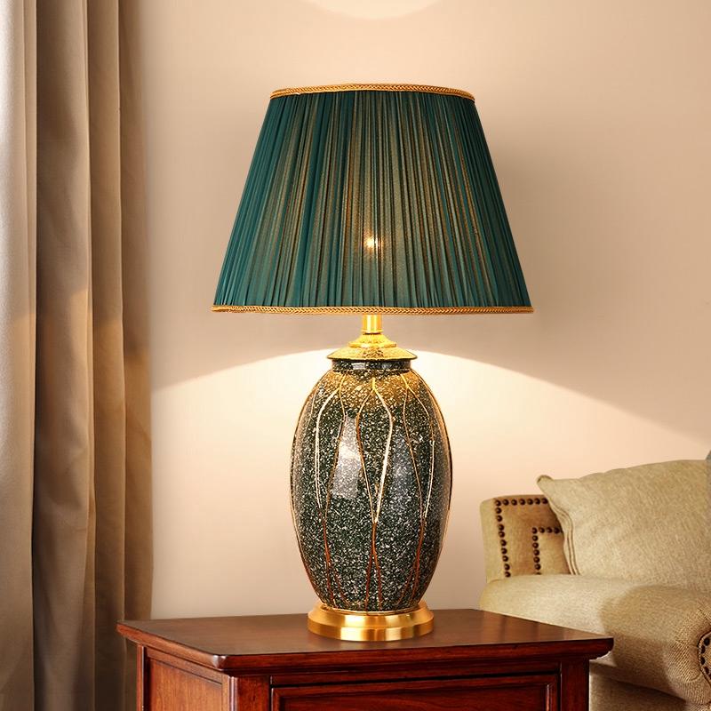american ceramic table lamp bedroom bedside lamp large