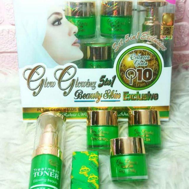Glow Glowing 5in1 Set Skincare Shopee Singapore