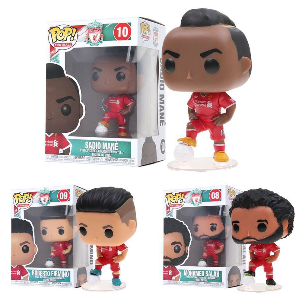 Firmino Junko Pop Liverpool Football Club Action Figures Toys Salah Mane