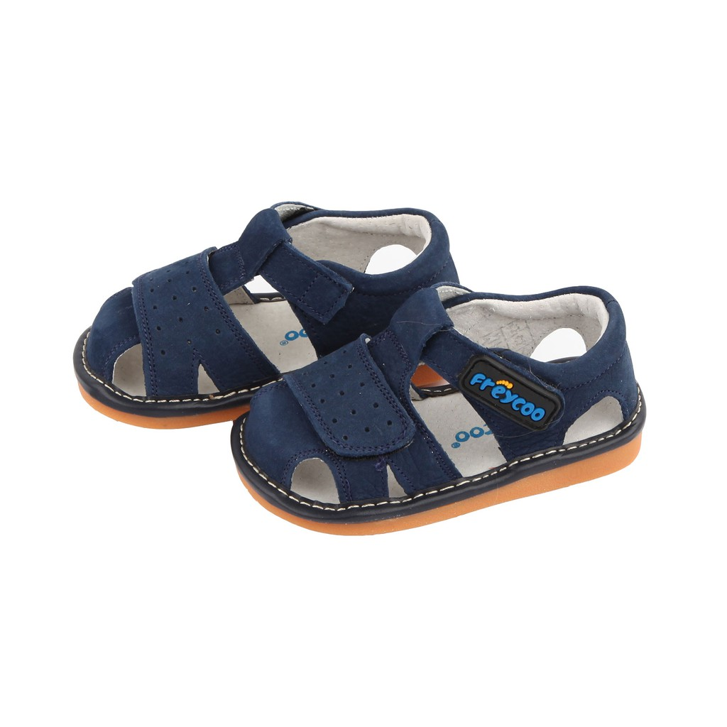 Freycoo -Navy Caspian Squeaky Shoes