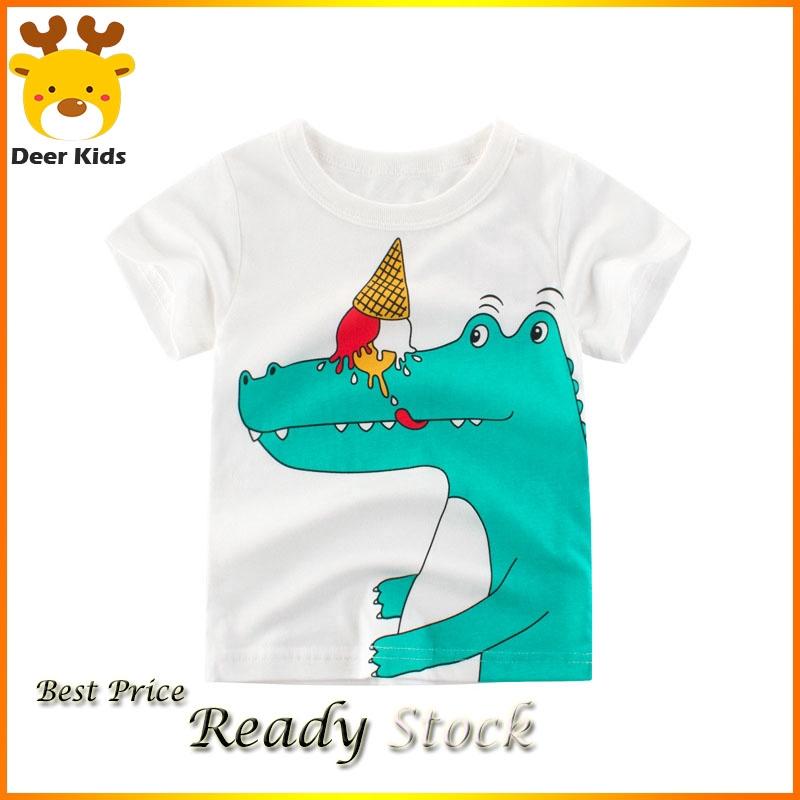 Garden Chicken Paw Kids Boys Girls Crewneck Short Sleeve Shirt Tee for Toddlers