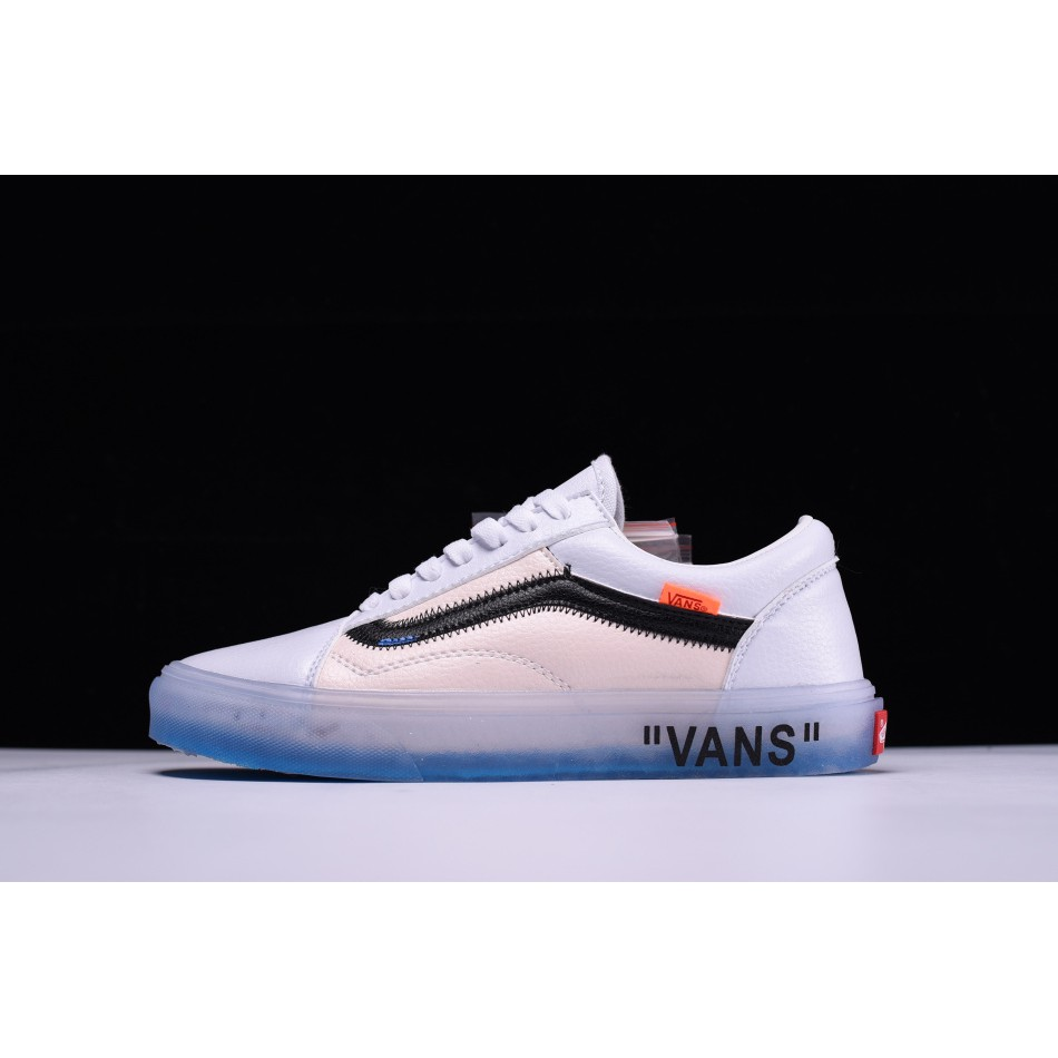 Original OFF-WHITE x Vans Old Skool sneakers VN-0D3NB99  a857f69a8a13