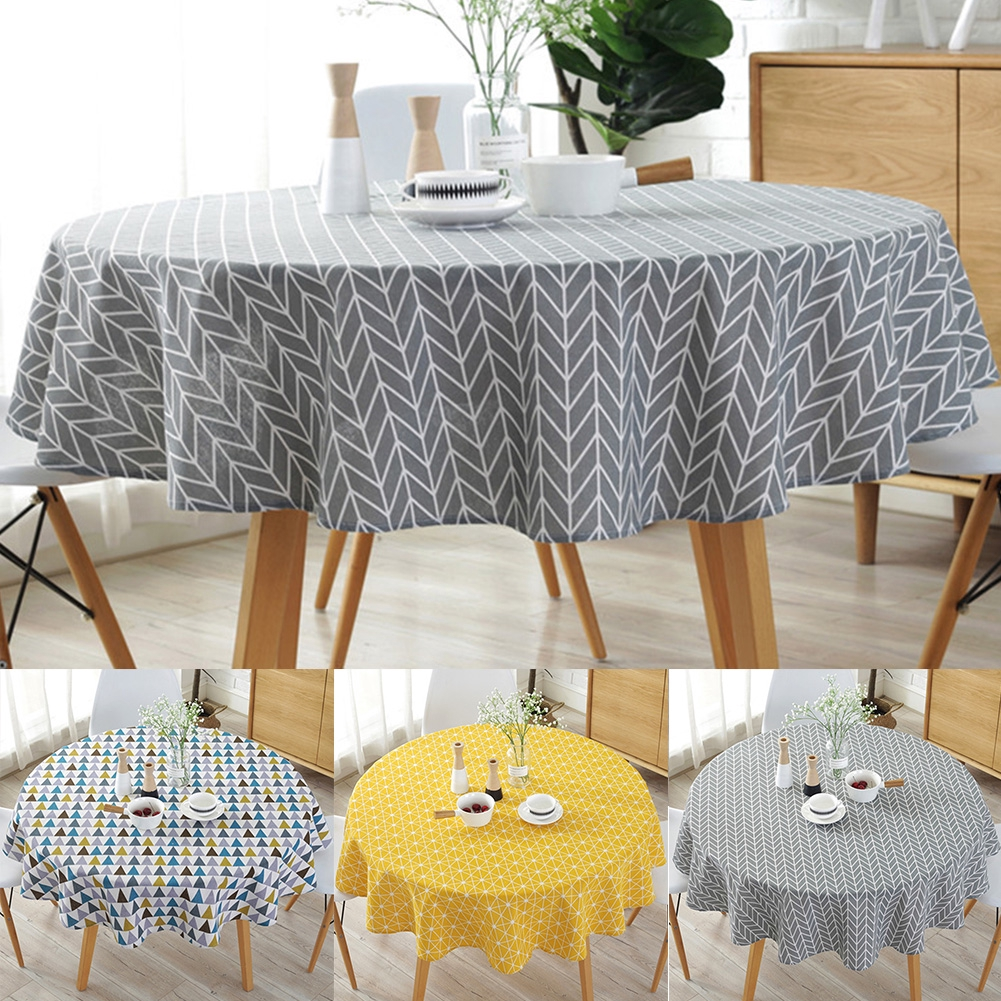 1 5m Linen Dining Tel Table Cloth