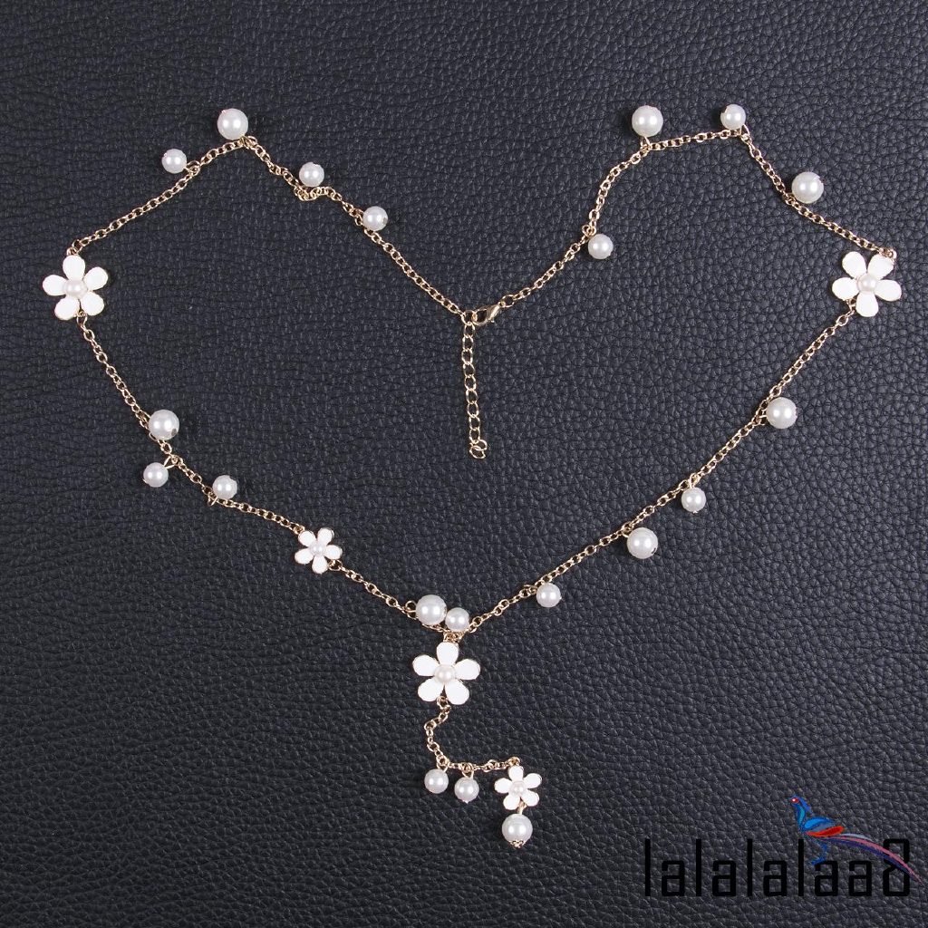 c3bb702956 Pink Rose Gold Flower Bijoux Collier Femme Statement Necklace | Shopee  Singapore