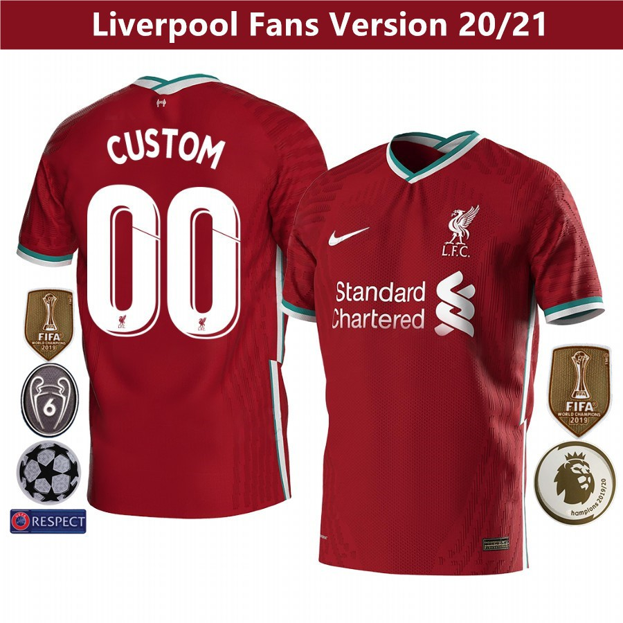Liverpool Jersey Home 20/21 Grade: AAA Size S-XXXL Men ...
