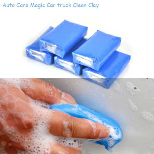 Carsun 1pc Magic Car Clean Clay Bar Auto Detailing Cleaner Car Truck Wash Mud Blue 100g Car Wash & Maintenance Automobiles & Motorcycles