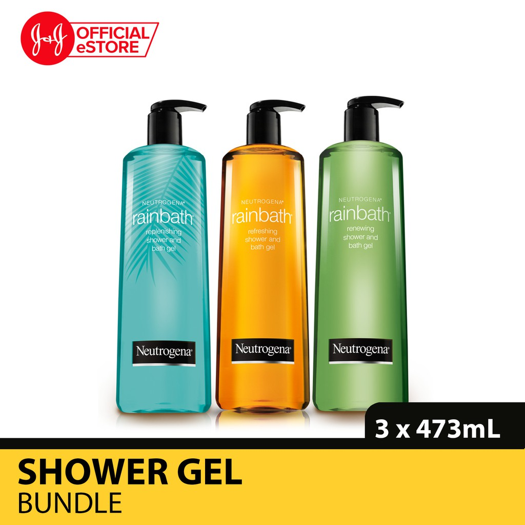 And 473ml Bath Gel Neutrogena X Shower Rainbath 3pcs MpGSVzqU