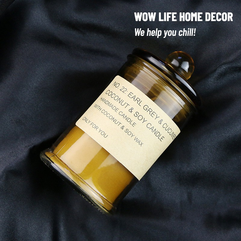 Castle Shaped Scented Candles, 25H Burn Time, 120g,Soy And