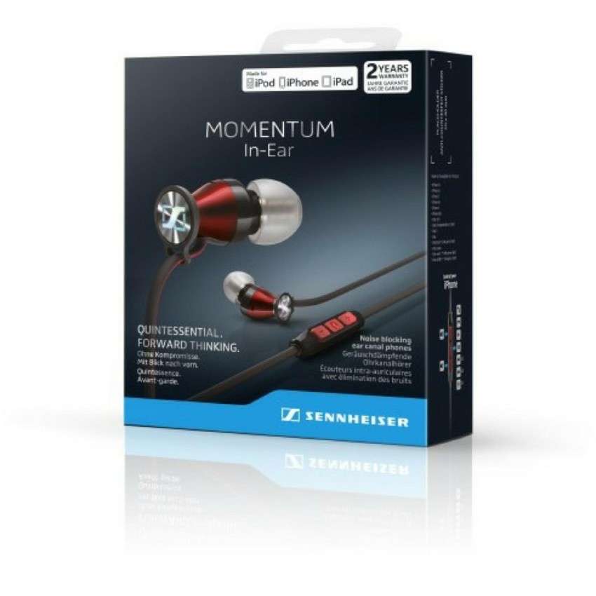 Sennheiser Momentum In-Ear Earphones For Smartphones (IOS/Android