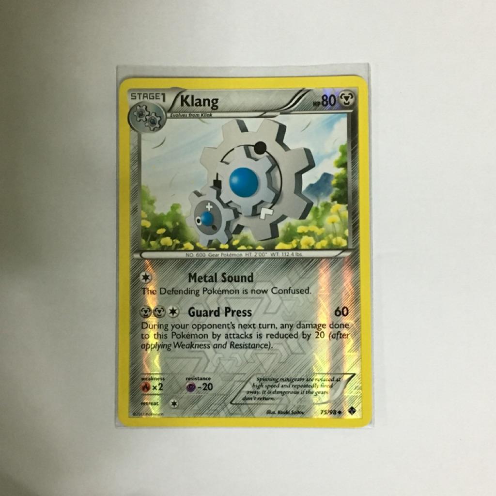 Pokemon Cards Emerging Power Klang Reverse Uncommon