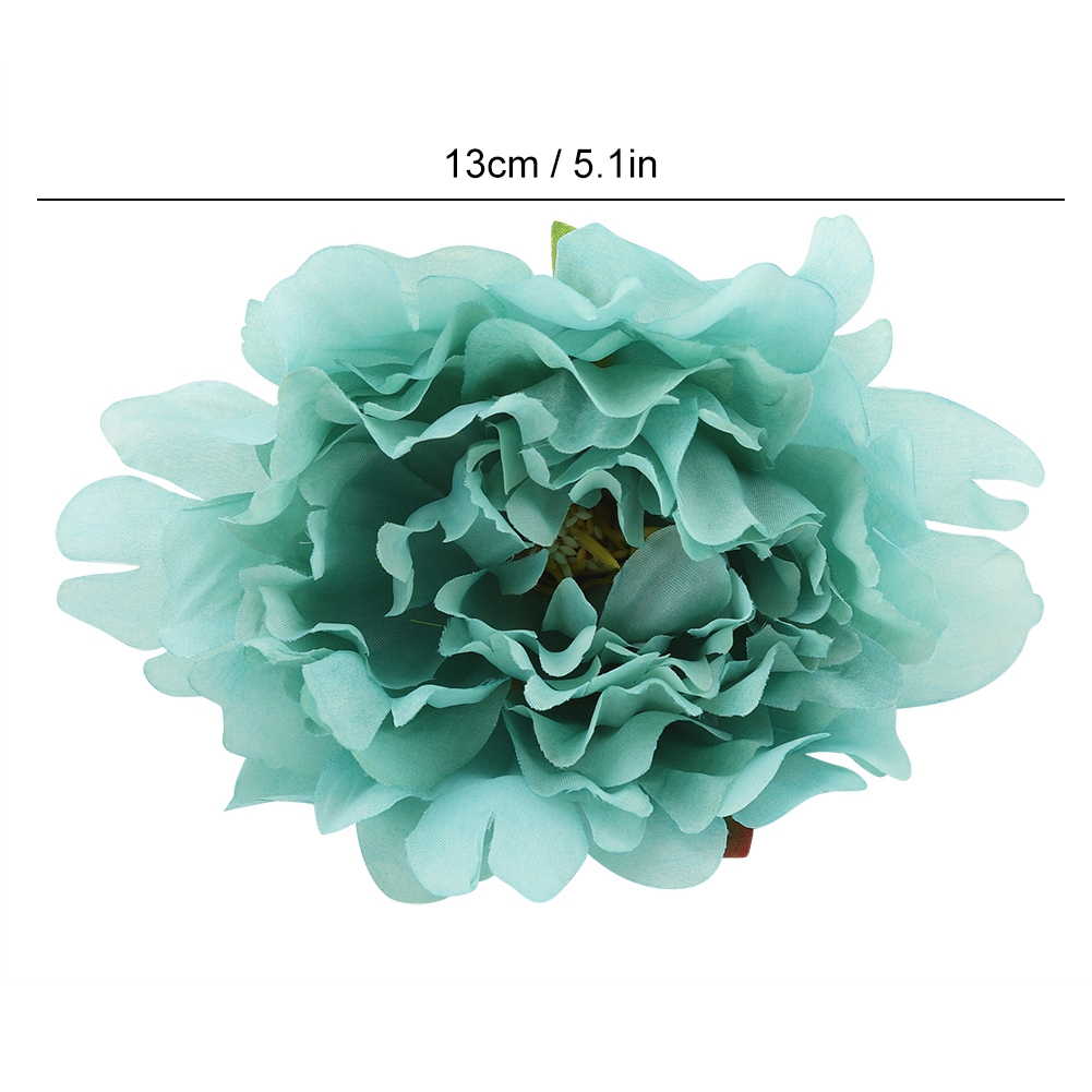 10pcs Floral Flower Heads Artificial Peony Wedding  Birthday Party Decor UK ~