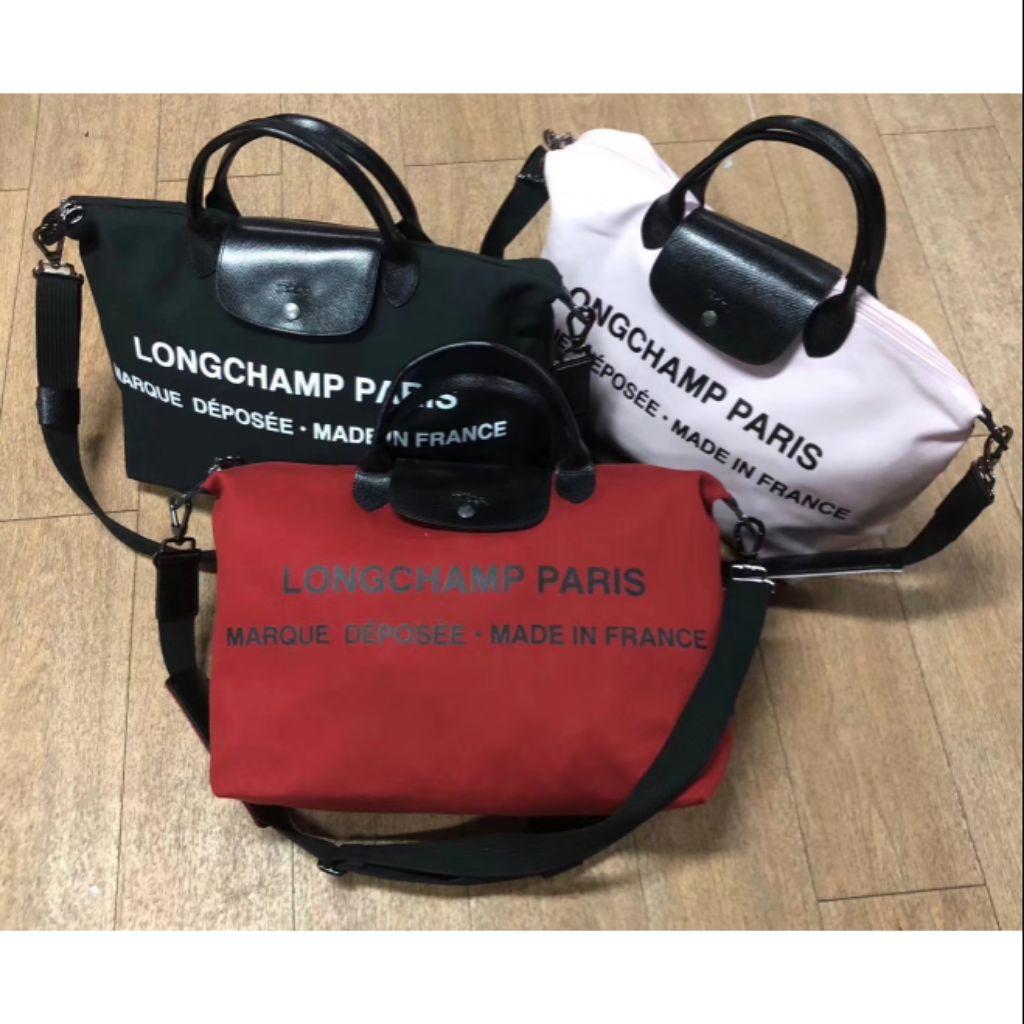 ff3bb8b54c12 2018 New longchamp by shayne oliver travel bag men women 3colour 100%  authentic