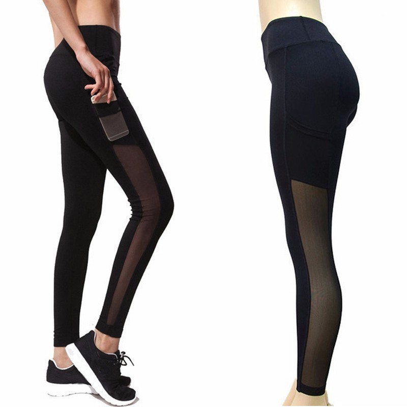 Ladies Yoga Gym Sports Workout Leggings Running Fitness Pants Stretch Trousers