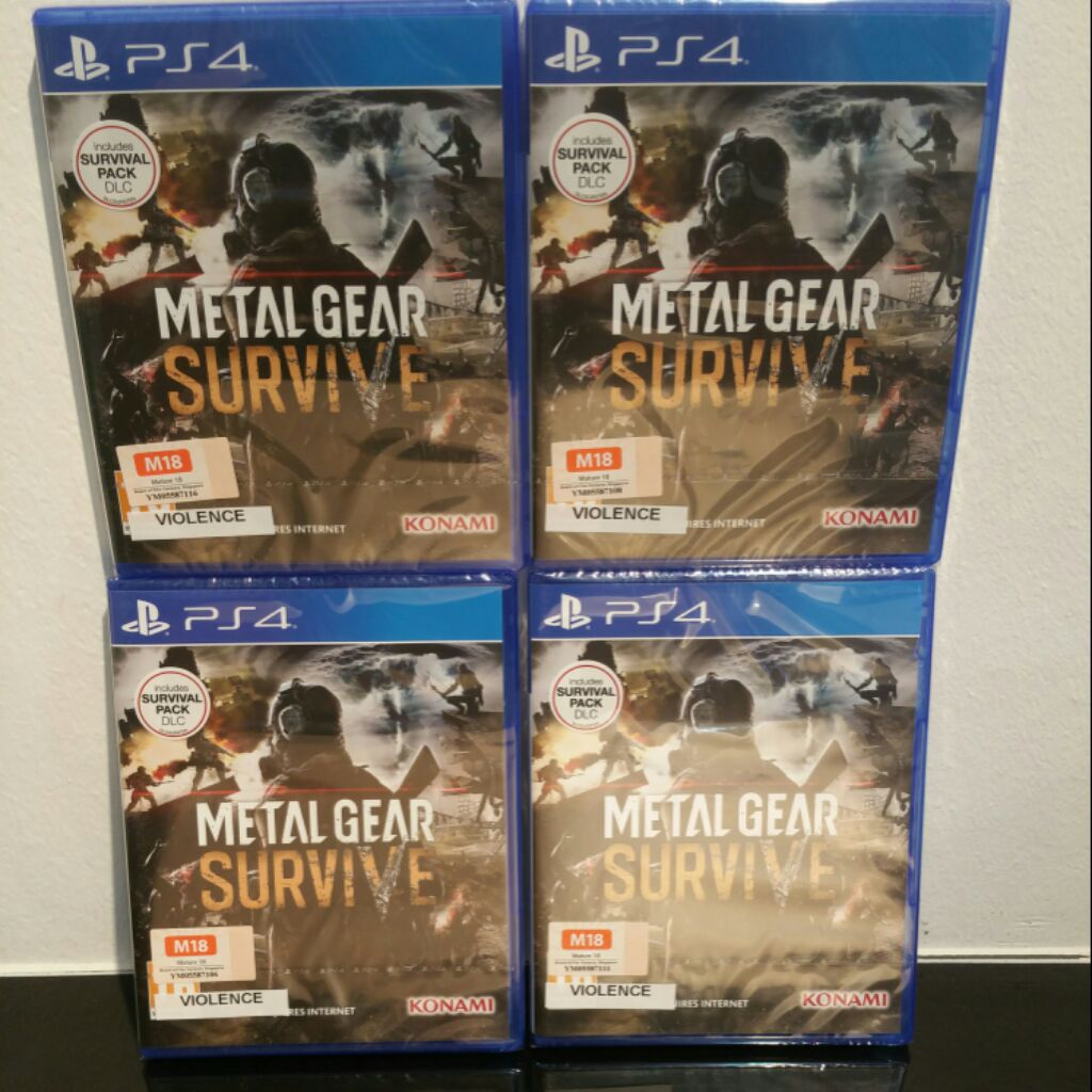 Ps4 Metal Gear Solid V The Definitive Experience Eurr2 Shopee Edtn Region 2 Singapore