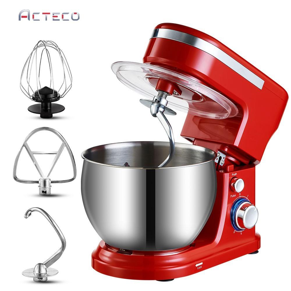 Ready Stock 5l 1200w Stand Mixer Egg Beater Whisk Dough Maker Kitchenaid Mixer Cake Baking Kitchen Food Electric Mixer Shopee Singapore