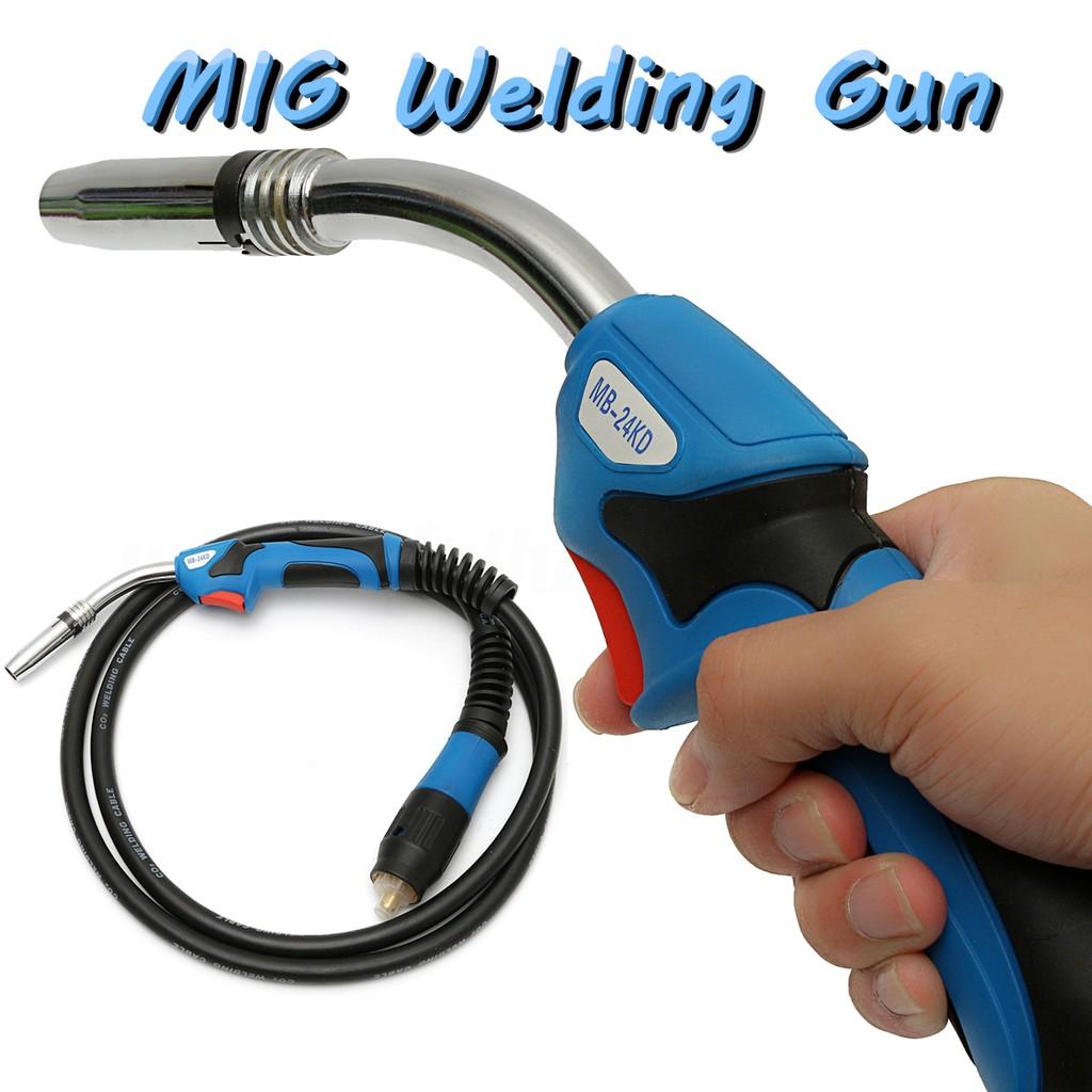Split Plastic Gas Welder Heat Gun Torch Hot Air Welding Pistol Set ...